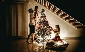 Christmas Tree Family Ecran Partage