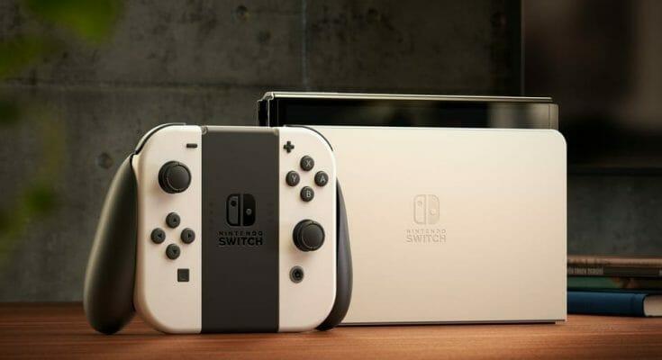 Nintendo Switch OLED Featured Ecran Partage