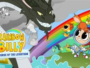 Rainbow Billy and the Curse of Leviathan Featured Ecran Partage